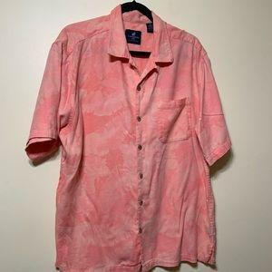 Xl button up short sleeve men's shirt